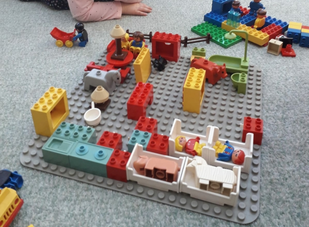 Building our house out of Duplo