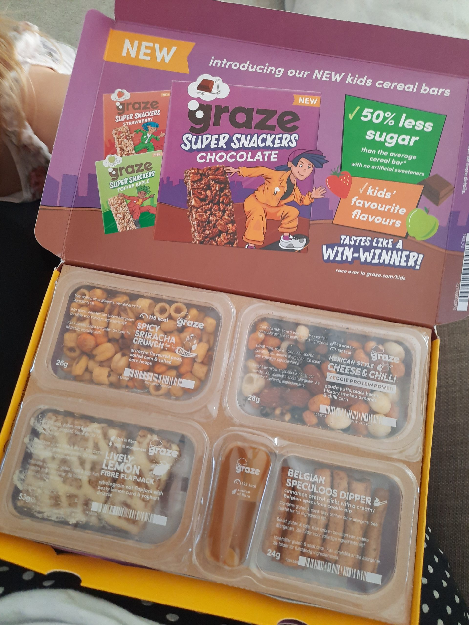 Claim a free Graze box (healthy snacks through your postbox!)