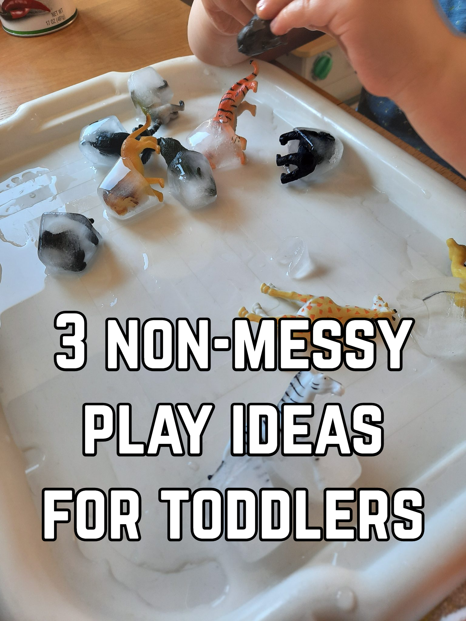 3 non-messy play ideas for toddlers